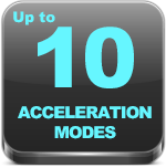 10 acceleration modes
