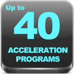 40 acceleration programs